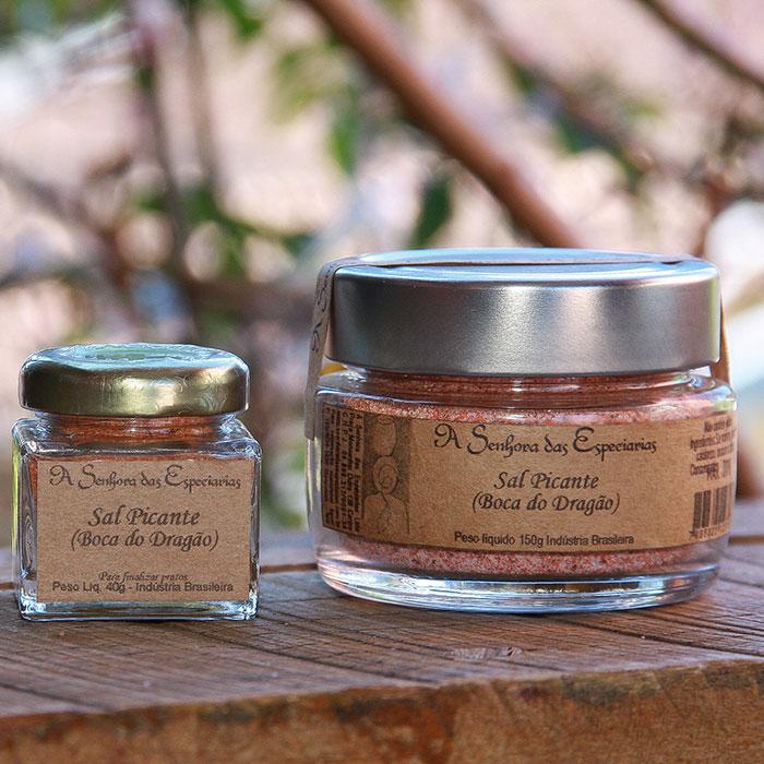 Sal picante (boca do dragão) produzida por A Senhora das Especiarias em Gonçalves MG.