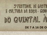 Oficina infantil no 5º Festival de Gastronomia e Cultura da Roça de Gonçalves (MG)
