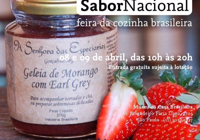 Feita Sabor Nacional em São Paulo com participação de A Senhora das Especiarias.