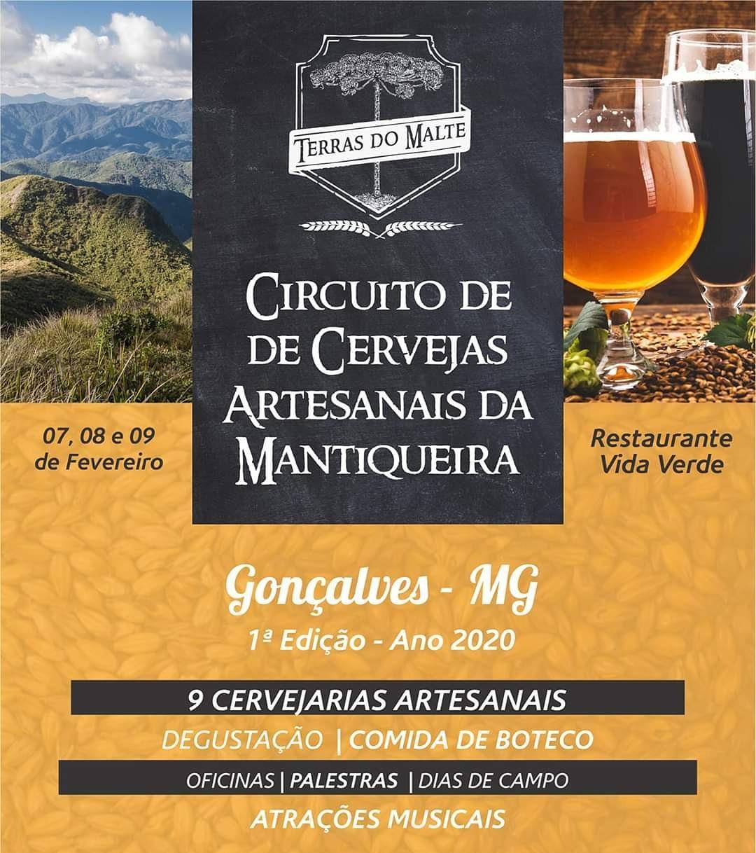 Terras do Malte - Circuito de Cervejas Artesanais da Mantiqueira